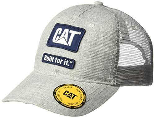 Caterpillar Men's Built Patch Cap, Heather Grey, OS