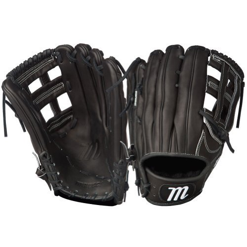 & 039;MARUCCI Founders Series h-web Outfield Gloves, schwarz, 12.75, Left Hand by MARUCCI Sports
