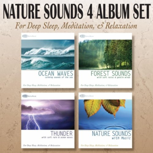 nature sounds 4 album set ocean waves forest sounds thunder