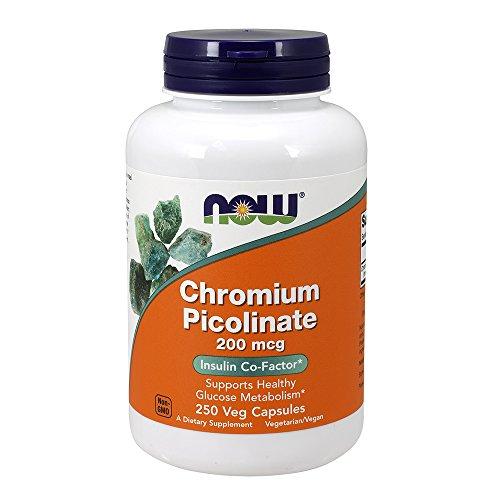 NOW Chromium Picolinate 200 Capsules