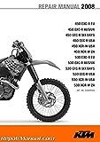 3206054 2008 KTM 450 530 EXC-R XCR-W Motorcycle Repair Manual