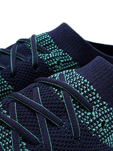 Top High On Womens Midnight Navy Slip Parakeet FitFlop Sneaker Uberknit nxpT7qn6W