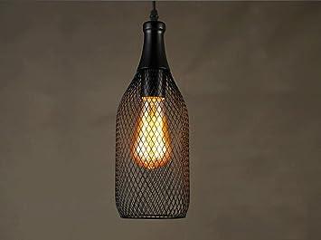 Kronleuchter Mit Flaschen ~ Wcui stacheldraht flasche kronleuchter bar cafe engineering lampen