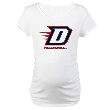157be962b9b Amazon.com  CafePress DePaul D Volleyball Maternity Tee  Clothing