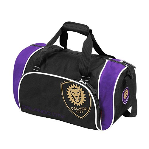 MLS Orlando City SC Locker Duffel, One Size, Multicolor by Logo Brands