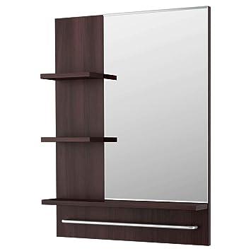 Amazon.de: IKEA Asien Lillangen Spiegel, Schwarzbraun