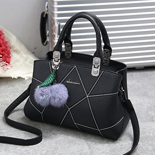 Handbag Gray Handbag Bag Shoulder 2 With Tote Handbags Handbags Ladies Barwell Handle Tq4RE