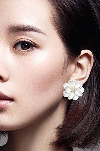 Generic Small_fragrant_ flowers camellias,_Liu_Shih_poetry,_with ear Nail _wild_temperament_elegant ear Nail earrings Earring eardrop