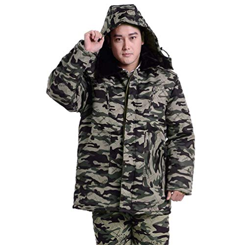 Outerwear Long Down Winter Sleeve Parka Long Warming Winter Warm Jacket 4 Jacket Jacket Men's Jackets Jacket Fashion Camouflage Hooded Young Jackets pgqTx