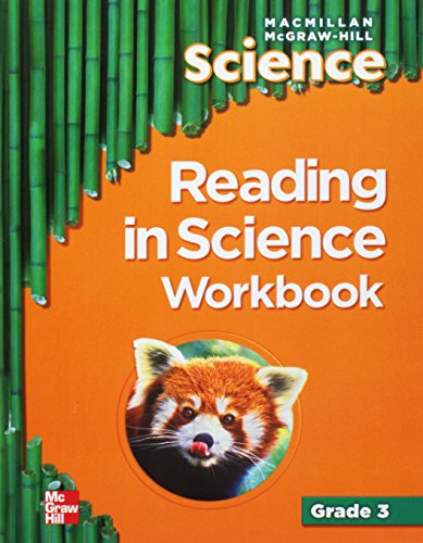 Macmillan/McGraw-Hill Science, Grade 3, Reading in Science Workbook (OLDER ELEMENTARY SCIENCE) -  Paperback