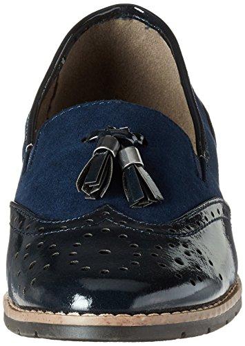 Softline 24260, Mocasines para Mujer Azul (Navy)