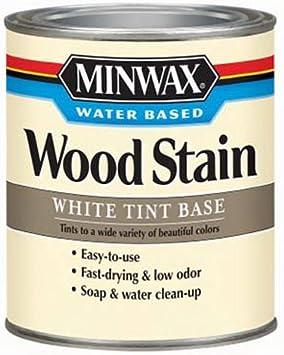 618064444 Minwax Water-Based tintes para madera, Quart, Roble ...