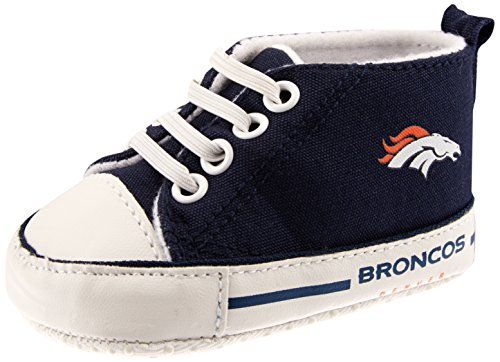 Baby Fanatic Pre Walker Hightop Broncos