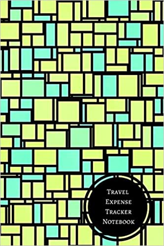 travel expense tracker notebook travel expense log journals for