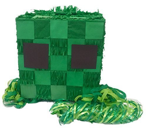 APINATA4U Creepy Cube Pull Strings Pinata Fully Assembled