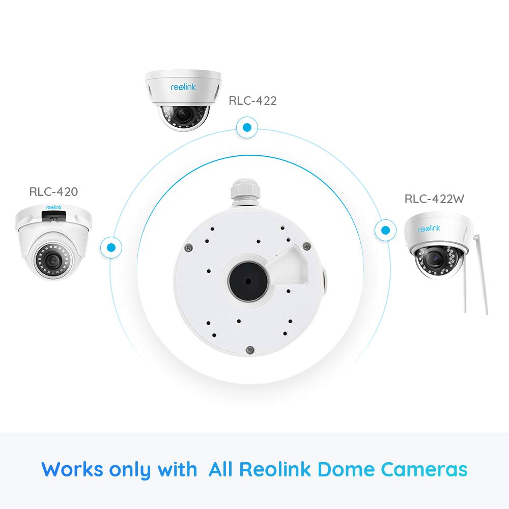 Reolink Junction Box D20 Designed for Reolink D400, RLC-420, RLC-422