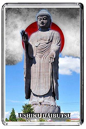 A125 USHIKU DAIBUTSU FRIDGE MAGNET JAPAN MOST FAMOUS STATUES REFRIGERATOR (Most Famous Statues)