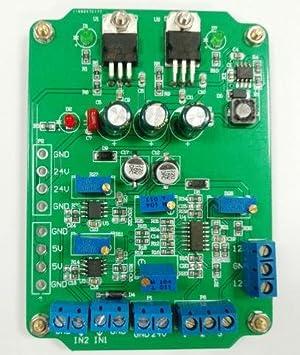 ws-xing módulo de amplificador de instrumentación AD620 doble salida diferencial insumo-producto programable