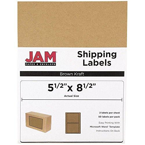 Kraft Label Sheet - 3