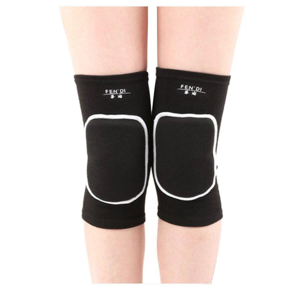 Ejercicio y gimnasia Knee Brace Yoga / danza / articulación dolor rodillas L Negro Black Temptation