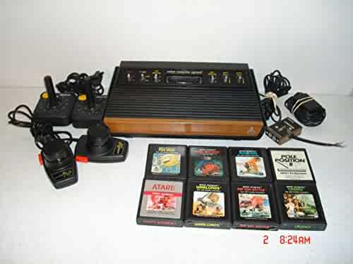 Atari 2600 Woodgrain bundle