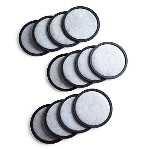 (Geesta 12-Pack Premium Activated Charcoal Water Filter Disk for All Mr. Coffee Models)