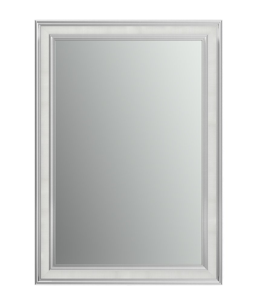 Delta Wall Mount 29 in. x 41 in. Medium (M3) Rectangular Framed Float Mounting Bathroom Mirror in Classic Chrome with Standard Glass Delta Faucet AFMRM3-CST-R