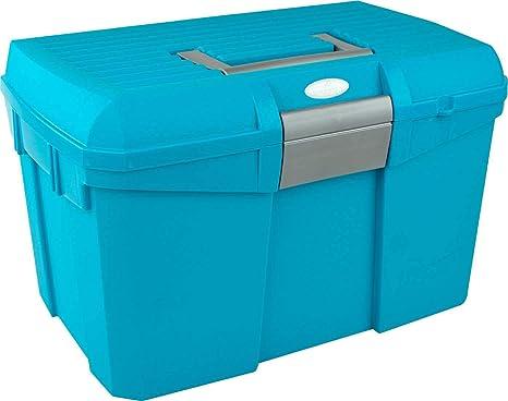 Amesbichler Putz Caja Norton, Turquesa/Gris   Caja para pulir ...