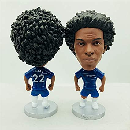 innovative design 29770 7be66 Amazon.com : Willian Borges 22# Chelsea Season Blue Kit ...