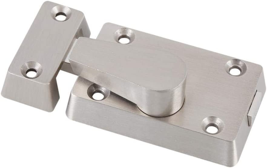 Stainless Steel Indicating Lock Door Lock Latch Indicator Privacy Vacant//Engaged Bolt Door Lock with Screws Used for Public Bathroom Toilets Anti-Rusty /& Durable