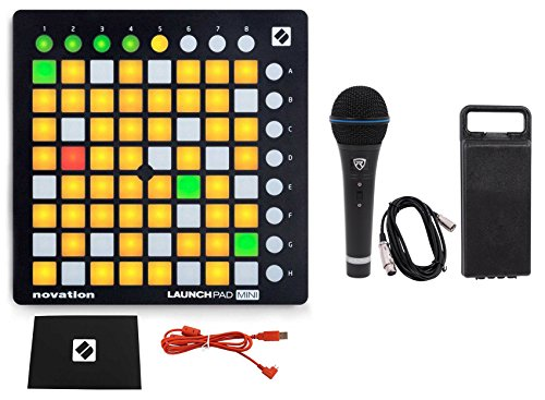 Find Cheap Novation LAUNCHPAD MINI MK2 MKII USB MIDI DJ Controller 64-Pad+Mic+Cable+Case