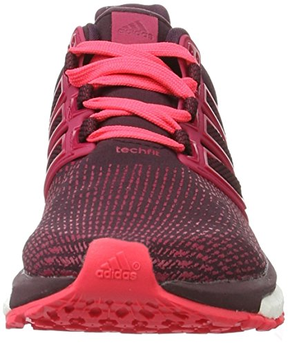 adidas Energy Boost ATR, Zapatillas de Running Para Mujer Rojo (Dark Burgundy/Maroon/Shock Red)