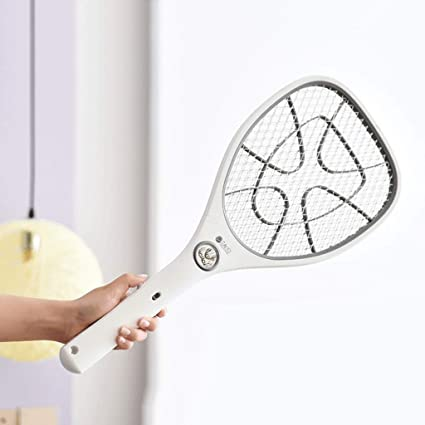 Amazon.com : Zcx Large Mesh Double Switch USB Rechargeable Mosquito Swatter LED Lights Electric Mosquito Swatter : Pet Supplies
