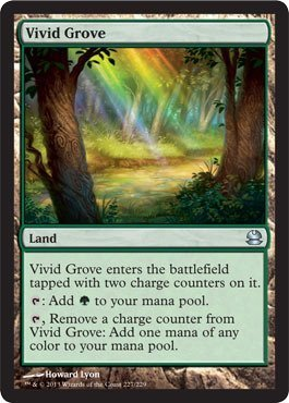 Magic: the Gathering - Vivid Grove - Modern Masters - Foil by Magic: the Gathering