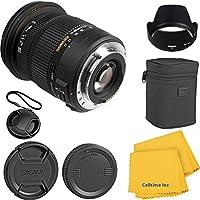 Sigma 17-50mm f/2.8 EX DC HSM Zoom CT Lens Kit for Canon 70D, 7D, T3, T3i, T4i, T5i, 60D, DSLR Cameras