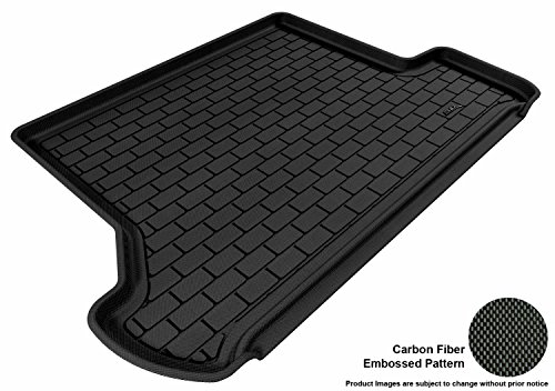 3D MAXpider Cargo Custom Fit All-Weather Floor Mat for Select Toyota 4Runner Models - Kagu Rubber (Black)
