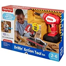 Fisher-Price Drillin' Action Tool Set