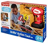 fisher price toolbox - Fisher-Price Drillin' Action Tool Set