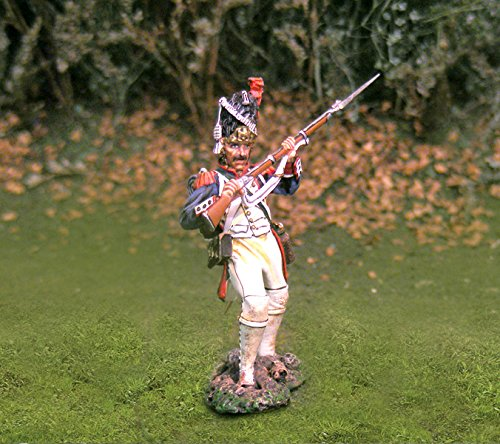 Napoleonic Toy Soldiers French Infantry Old Guard Defending Collectors Showcase Toy Soldiers Painted Metal Figure CS00703 Britains King Country Type