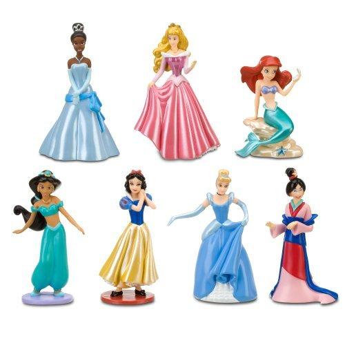 Disney Princess Figure Play Set #1 -- 7-Pc