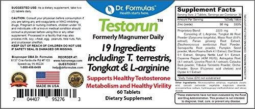 Dr Formulas Testosterone Performance Supplement