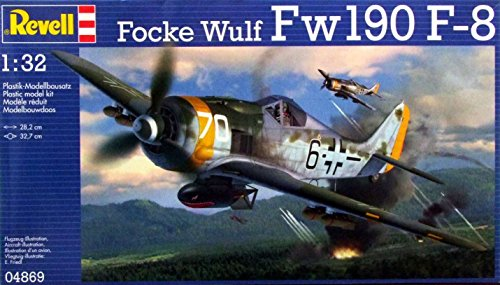 - Revell of Germany Focke Wulf Fw190 F-8 Model Kit