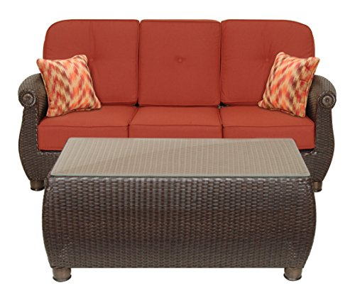 La Z Boy Outdoor Breckenridge Resin Wicker Patio Furniture