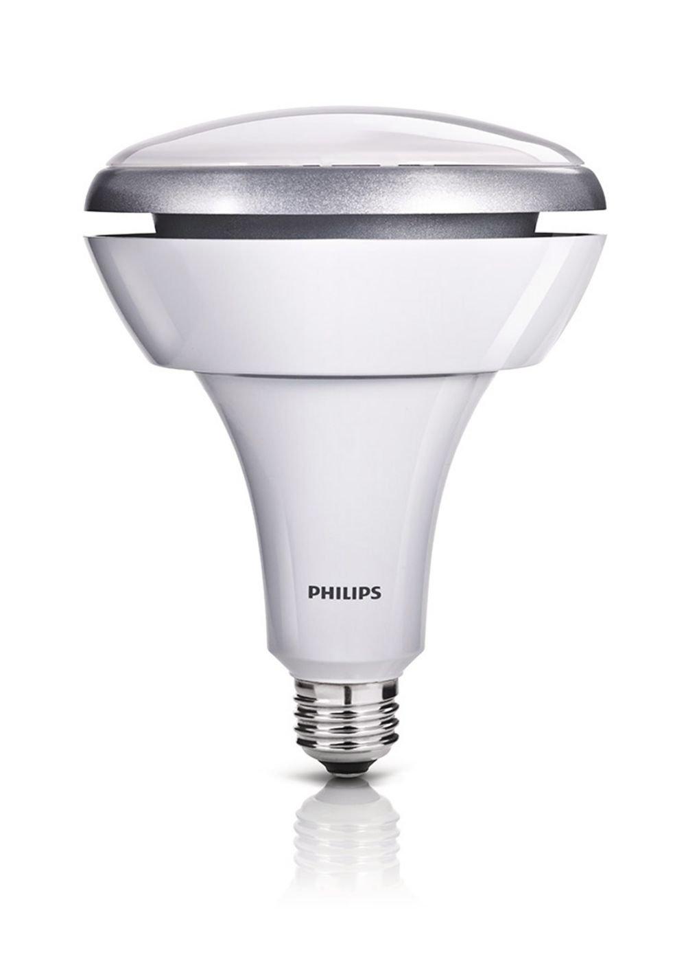 Philips 423756 14.5-Watt (75-Watt) BR40 LED Indoor Flood Light Bulb ...
