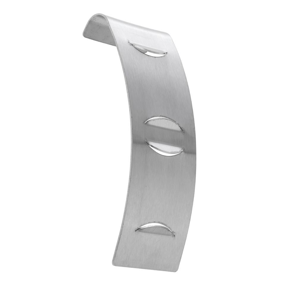 Signholder For Sneeze Guards Stainless Steel - 2 1/2'' L x 6 1/2'' H% Per Pack