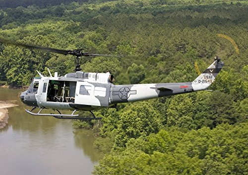 Used, Posterazzi A U.S. Air Force UH-1H Huey in an experiment for sale  Delivered anywhere in USA