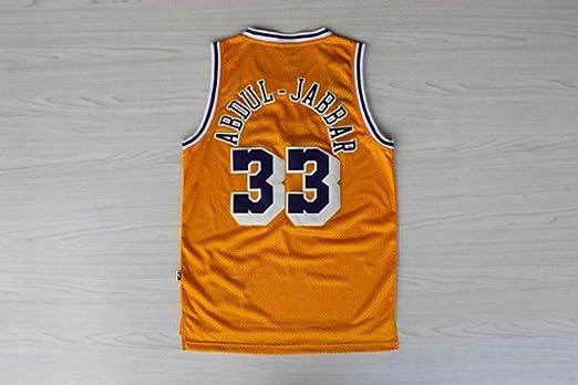 HS-WANG9 Los Angeles Lakers # 33 Kareem Abdul-Jabbar Juego de ...