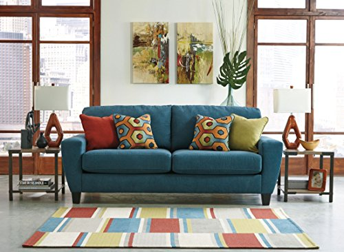 Signature Design by Ashley Sagen Sofa, Teal