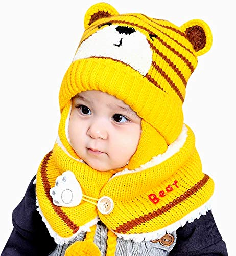 Jshuang - Gorro de Punto Trenzado para bebé, diseño de Elefante ...