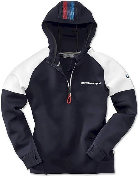BMW Motorsport Sweat shirt à capuche pour femme en polyester